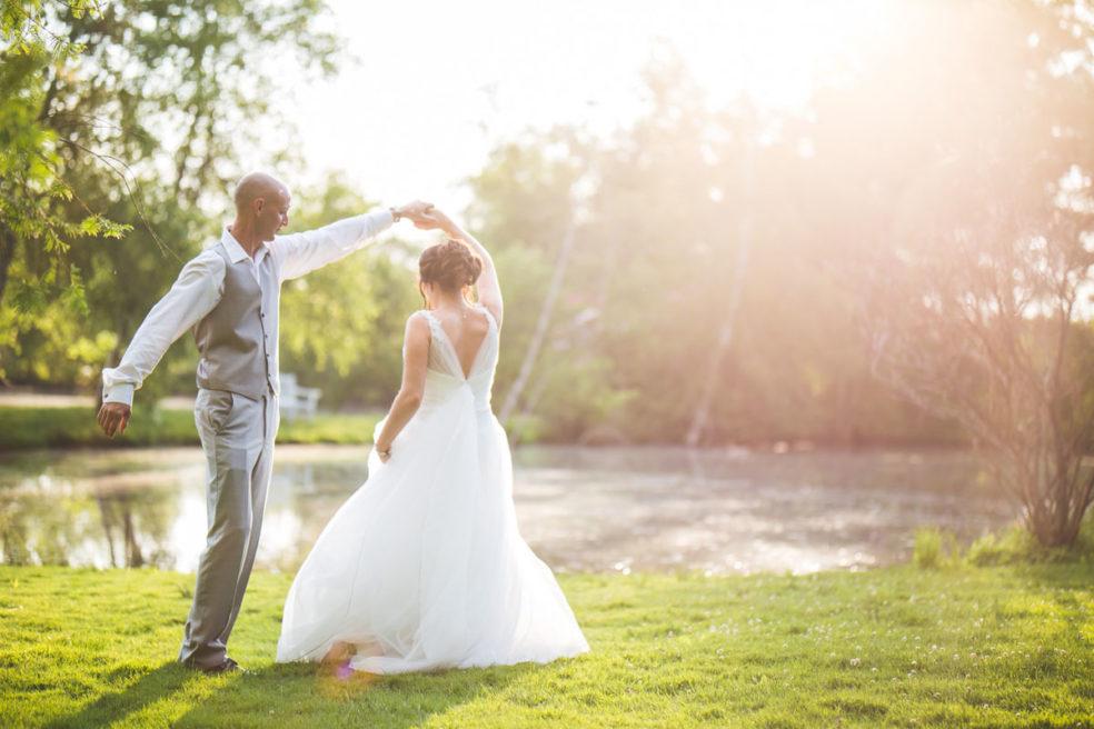 Wedding photos at Succop Conservancy in Butler, PA
