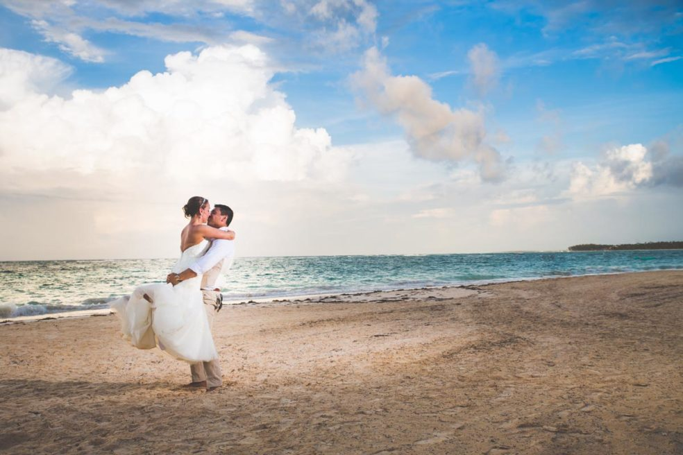 Wedding photos in Punta Cana!  Pittsburgh couple heads to the Dominican Republic for their wedding!